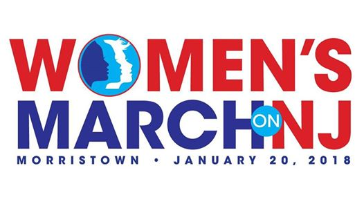 "Join the Women's March on <span class=""caps"">NJ</span> 2018 this Saturday, Jan. 20th"