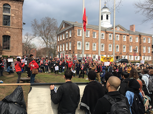 Contract, tuition, wage rally at Rutgers