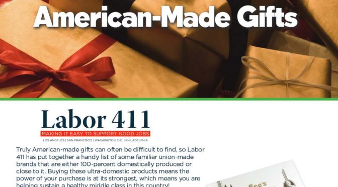 Buy American and Support Labor This Holiday Season