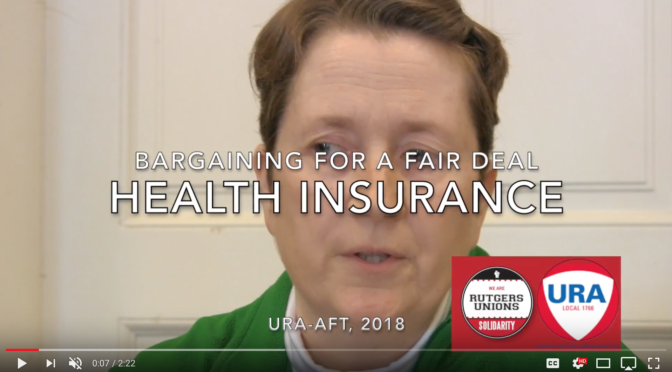 Bargaining for a Fair Contract: Health Insurance