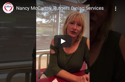 Nancy McCarthy, Rutgers Dining Services